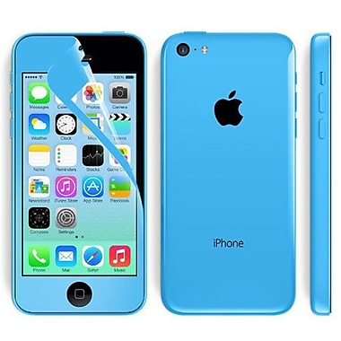 i-Blason HD Matte Bubble Free Screen Protector For iPhone 5C, Blue