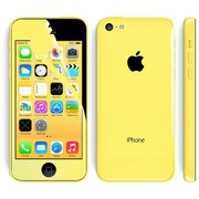 i-Blason HD Matte Bubble Free Screen Protector For iPhone 5C, Yellow
