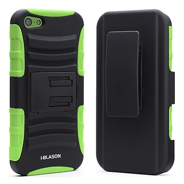 i-Blason Prime Series Dual Layer Holster Case With Belt Clip For iPhone 5/5S, Green