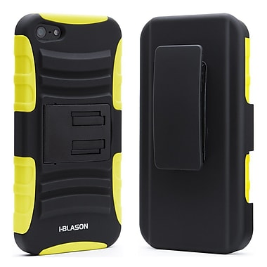 i-Blason Prime Series Dual Layer Holster Case With Belt Clip For iPhone 5/5S, Yellow