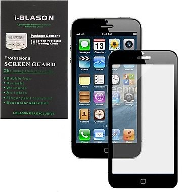 i-Blason HD Matte Bubble Free Screen Protector For iPhone 5/5S, Black