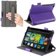 "i-Blason Slim Fit Cover Case For 7"" Amazon Kindle Fire HD 2013, Purple"