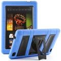 i-Blason Armorbox 2 Layer Tough Case For 7in. Amazon Kindle Fire HD 2013, Blue/Black