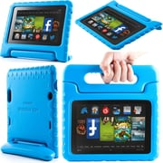 "i-Blason Armorbox Kido Series Light Weight Stand Case For 7"" Amazon Kindle Fire HD 2013, Blue"