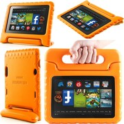 "i-Blason Armorbox Kido Series Light Weight Stand Case For 7"" Amazon Kindle Fire HD 2013, Orange"