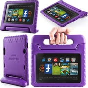 "i-Blason Armorbox Kido Series Light Weight Stand Case For 7"" Amazon Kindle Fire HD 2013, Purple"