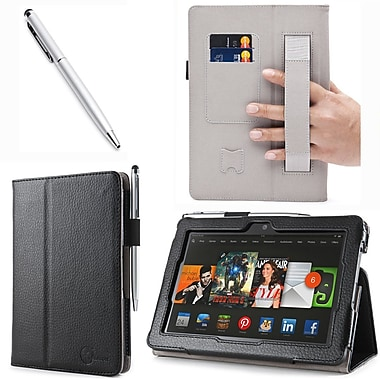i-Blason Slim Book Leather Case With Bonus Stylus For 7