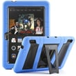 i-Blason Armorbox 2 Layer Tough Case For 7in. Amazon Kindle Fire HDX 2013, Blue/Black