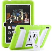 "i-Blason Armorbox 2 Layer Tough Case For 7"" Amazon Kindle Fire HDX 2013, Green/White"