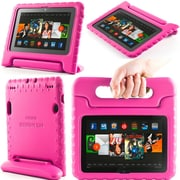 "i-Blason Armorbox Kido Series Light Weight Stand Case For 7"" Amazon Kindle Fire HDX 2013, Pink"