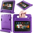 i-Blason Armorbox Kido Series Light Weight Stand Case For 7in. Amazon Kindle Fire HDX 2013, Purple