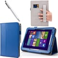 i-Blason Leather Slim Book Case For Asus VivoTab Note 8, Blue