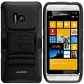 i-Blason Prime Series Dual Layer Holster Case With Belt Clip For Nokia Lumia 928, Black