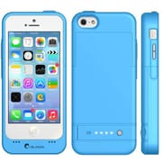 i-Blason PowerGlider Rechargeable Battery Case With USB Charging Port For iPhone 5C, Blue