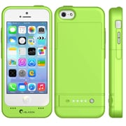 i-Blason PowerGlider Rechargeable Battery Case With USB Charging Port For iPhone 5C, Green