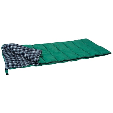 Stansport™ Weekender Rectangular Sleeping Bag, Forest Green