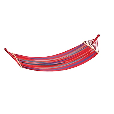 Stansport™ Bahamas Single Cotton Hammock, Red