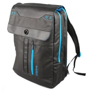 Samsill® Altego™ Coated Canvas Cyan Series Backpack For 17 Laptops, Black