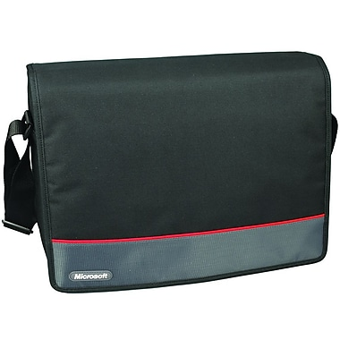 Samsill® Microsoft 15.6in. Laptop Messenger, Black/Red