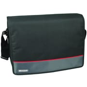 Samsill® Microsoft 15.6 Laptop Messenger, Black/Red