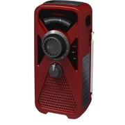 Eton FRX2 American Red Cross AM/FM/NOAA Weather Alert Radio With Smartphone Charger, Red