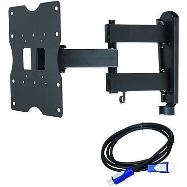 Ready Set Mount™ CC-A1840 Full Motion Large TV Wall Mount For Flat Panel TVs Up to 90 lbs.