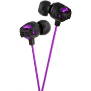 JVC HA-FX101V Inner-Ear Headphones, Violet