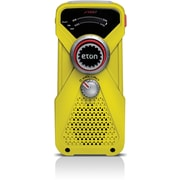 Eton FRX1 Hand Turbine AM/FM Weather Alert Radio With LED Flashlight, Yellow