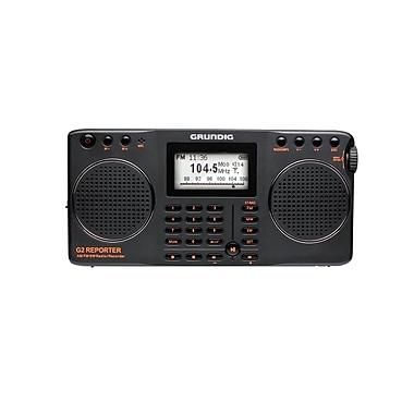 Eton Grundig G2 Reporter AM/FM Shortwave Radio Recorder