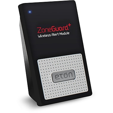 Eton ZoneGuard Plus Wireless Alert Module, Black