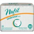 First Quality Nu-Fit Protective Underwear in; Black