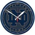 Wincraft Collegiate 12.75'' NCAA Wall Clock; Notre Dame - Alumni