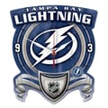Wincraft NHL Plaque Wall Clock; Tampa Bay Lightning