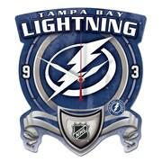 Wincraft NHL Plaque Wall Clock; Tampa Bay Lightning