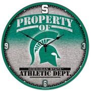 Wincraft Collegiate 18'' NCAA High Def Wall Clock; Michigan State