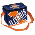 Forever Collectibles NCAA Zipper Lunch Bag; Illinois