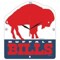 Wincraft NFL High Def Plaque Wall Clock; Buffalo Bills - Retro