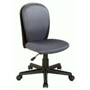 Chintaly Mid-Back Youth Desk Chair; Grey