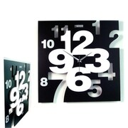Creative Motion 15.35'' Artistic Wall Clock