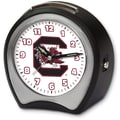 Cottage Garden Collegiate Alarm Table Clock; University of South Carolina