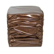 Firefly Home Collection Stool; Gold