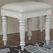 Home Styles Bermuda Vanity Bench; White
