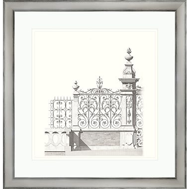 Melissa Van Hise Gates ll Framed Graphic Art