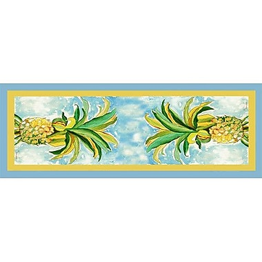 Betsy Drake Interiors Pineapple Table Runner; 54'' W x 13'' L