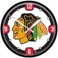 Wincraft NHL 12.75'' Wall Clock; Chicago Blackhawks - Style 1