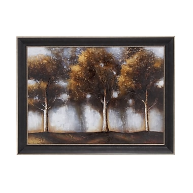Woodland Imports Natural Scenic Framed Painting Print