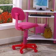 InRoom Designs Kid's Computer Desk Chair; Pink