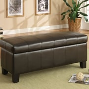Oxford 40471PU Storage Bench