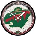 Wincraft NHL 12.75'' Wall Clock; Minnesota Wild 2
