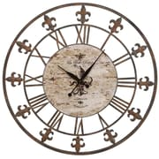 Aspire Oversized 36'' Sun Dial Wall Clock